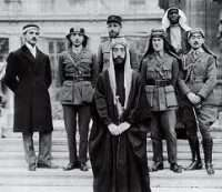 Faisal of Iraq and Lawrence of Arabia