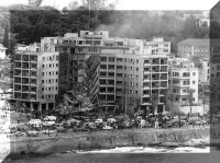 Beirut after bombing