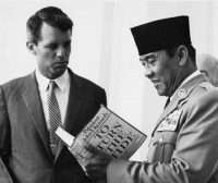 Pope Robert Kennedy and Pres Sukarno