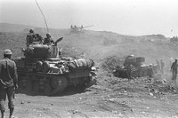 liberty Israeli_tanks_advancing_on_the_Golan_Heights_during_the_Six-Day_War