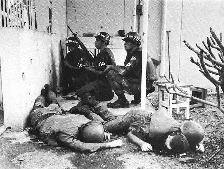 Viet Cong Invade American Embassy The 1968 Tet