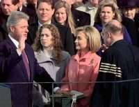 gay clinton swearing in