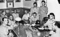 suez Free Officers in Cairo in 1952