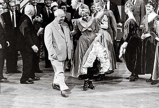 Khrushchev and Can Can