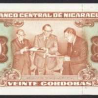 nica Front of currency