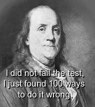 Ben franklin test 3