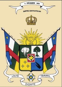Bokassa, Coat of Arms