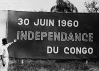 Congo independence sign