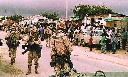 US forces in Somalia