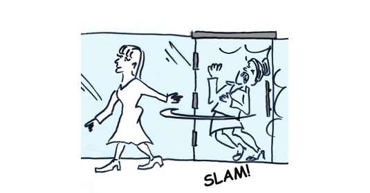 slamming-door