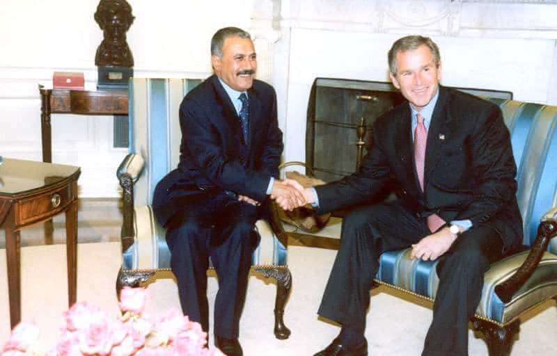 Saleh and Bush