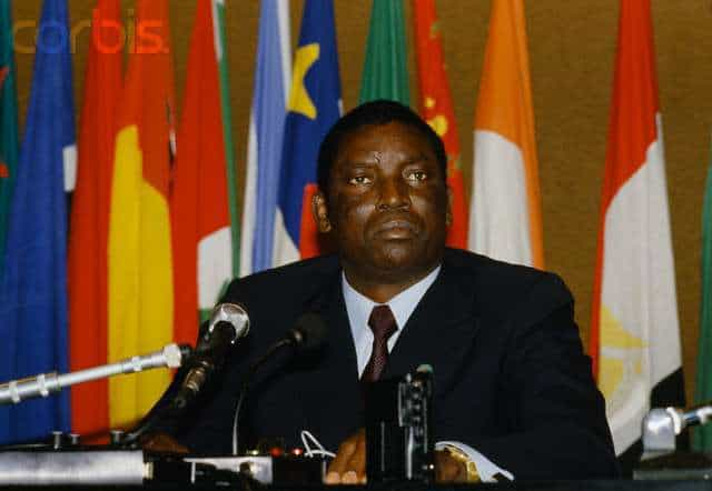 Gnassingbe Eyadema of Togo