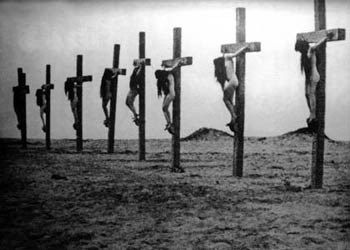 crucified Armenian girls