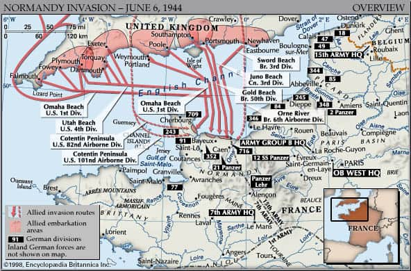 DDayInvasionMap-Normandy