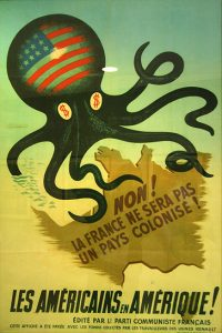 Marshall Plan French Communist poster