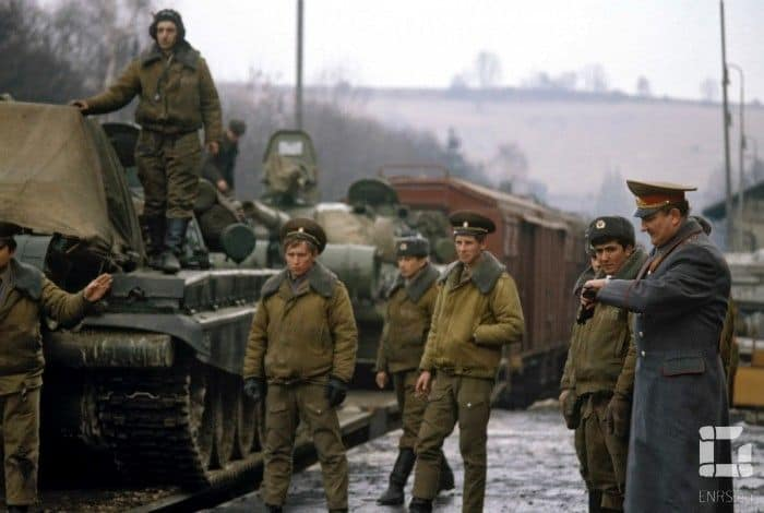 Sov troops out of CZ
