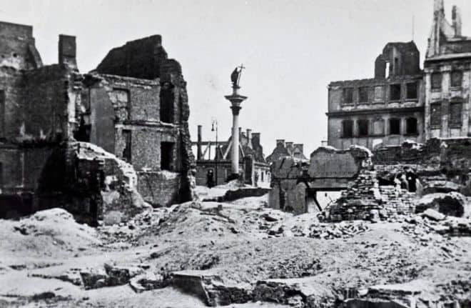 Warsaw after WWII