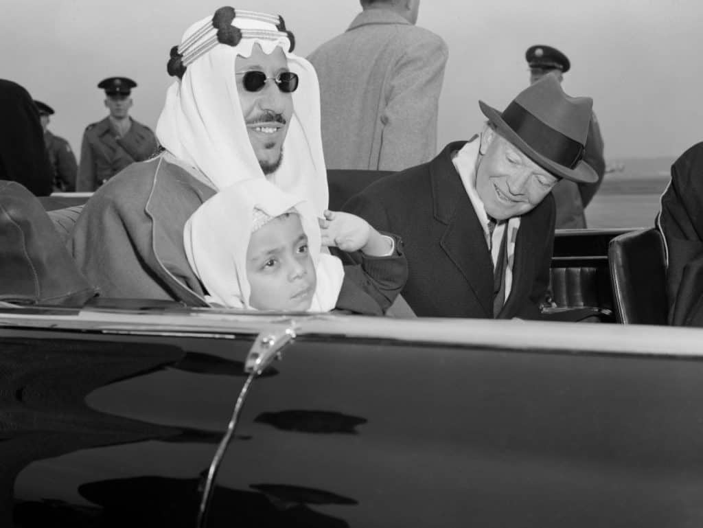 Eisenhower King Saud