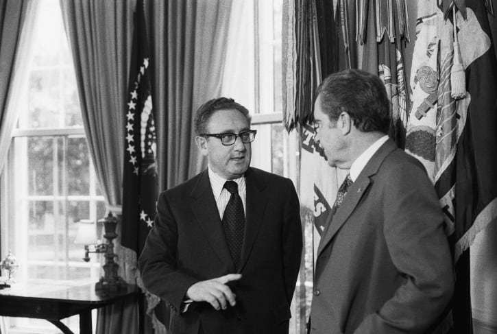 Nixon Kissinger oval office