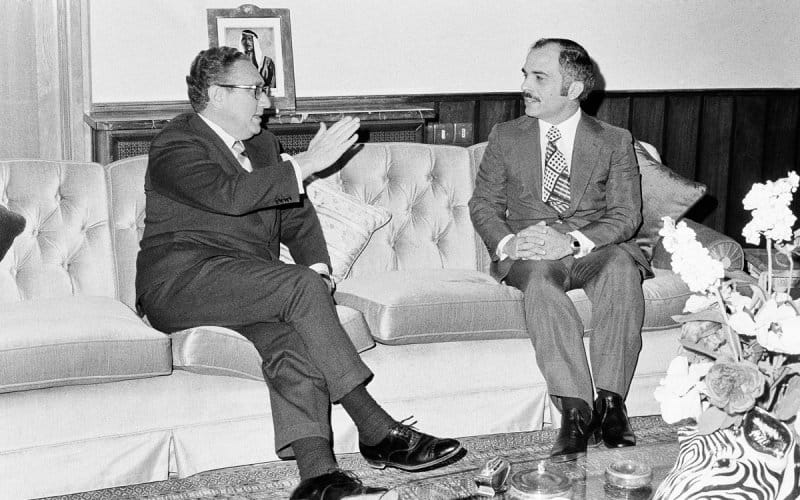Kissinger-King Hussein