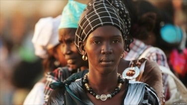 south sudan lady