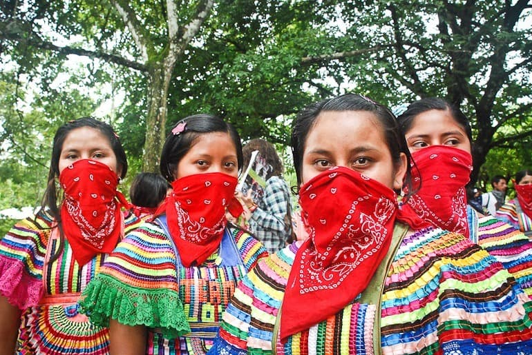 Chiapas girls