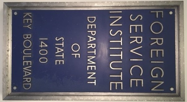 The Battle to Create the Foreign Service Institute