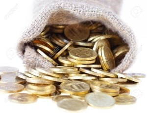 8521186-Bag-filled-with-gold-coins--Stock-Photo