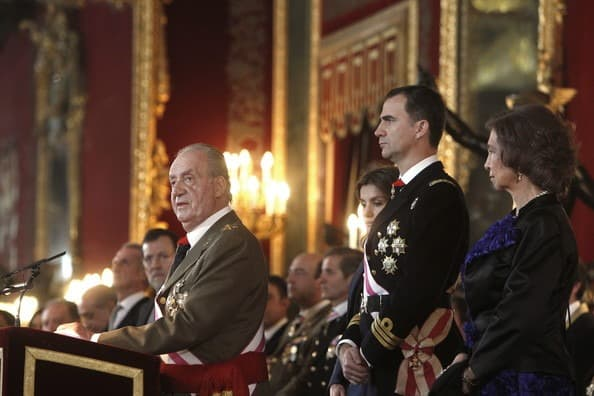 Spanish+Royals+Celebrate+New+Year+Military+RPyqzH21kBxl