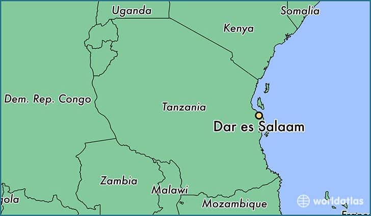 The Bombing of U.S. Embassy Dar es Salaam, Tanzania - Association ...