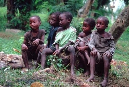 Children, D.R. Congo (Zaire), Central Africa