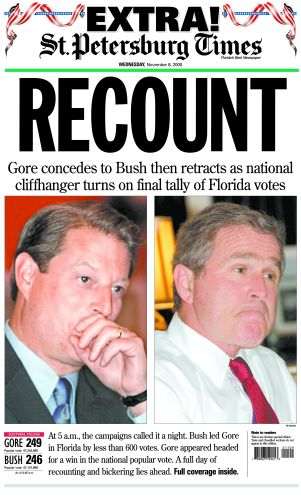 The 2000 Presidential Election The Florida Recount Association