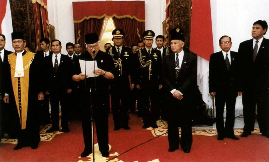 Suharto's Resignation Speech (1998) | Office of the Vice President of The Republic of Indonesia | Wikipedia
