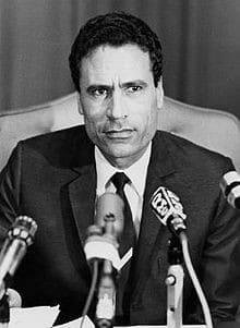 Former Libyan head of state Muammar Gaddafi (1973)   The Telegraph   Wikimedia Commons