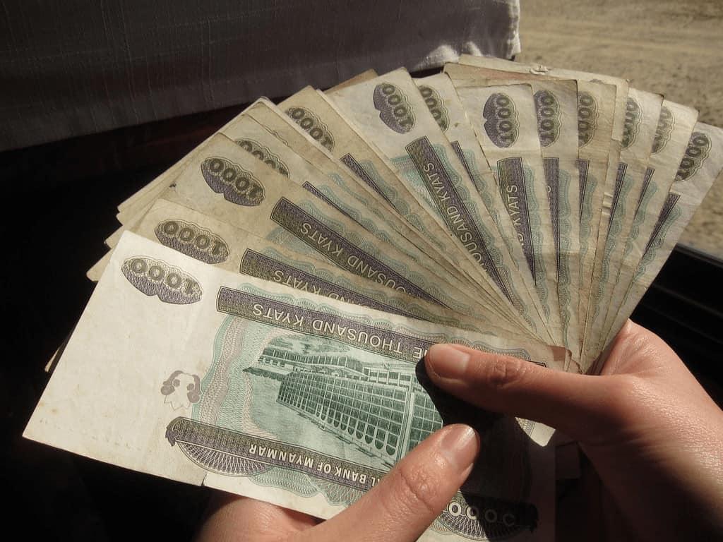 Kyat Bank Note (2012) Isriya Paireepairit | Flickr