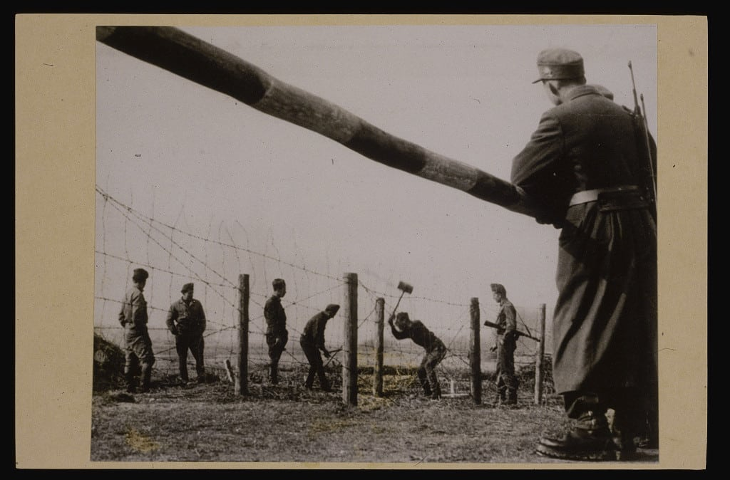 Mending a Hole in the Iron Curtain (1957)   Unknown   Library of Congress