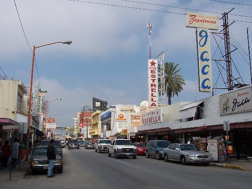 Downtown Nuevo Laredo (2005) J. Stephen Conn | Flickr