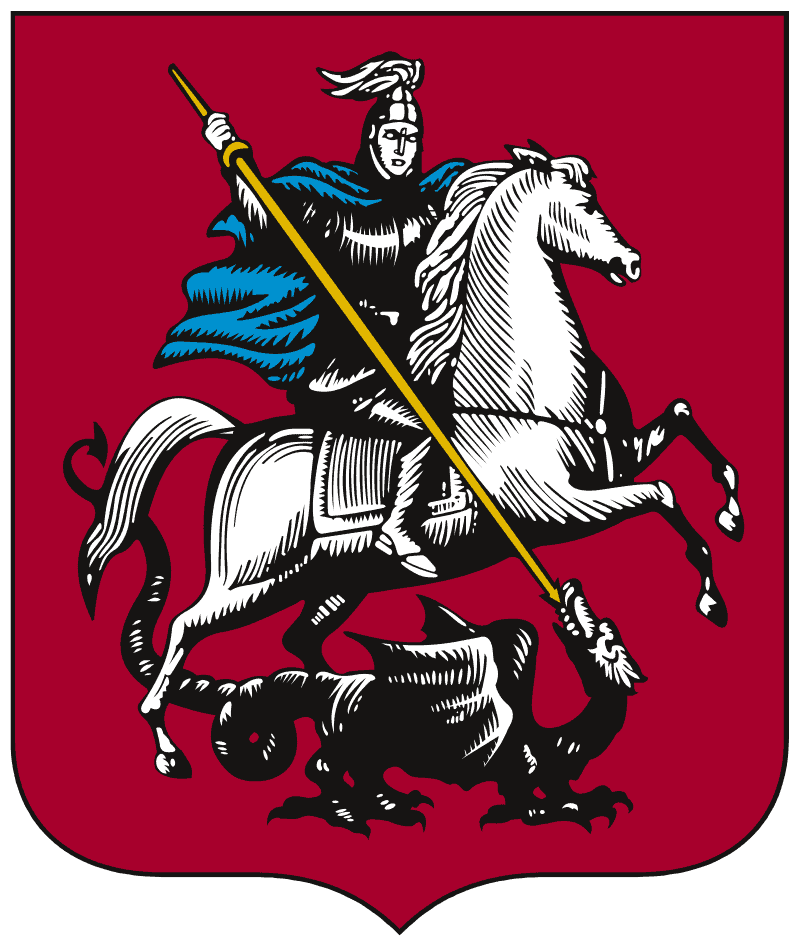 Coat of Arms of Moscow (2008) Vector-Images.com | Wikipedia