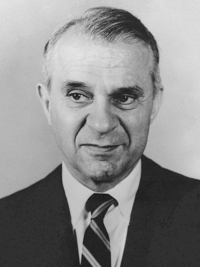 1973 Press Photo Wassily W. Leontief Nobel Prize Winner For Economics. Taken on October 30, 1973. Source: Wikimedia Commons