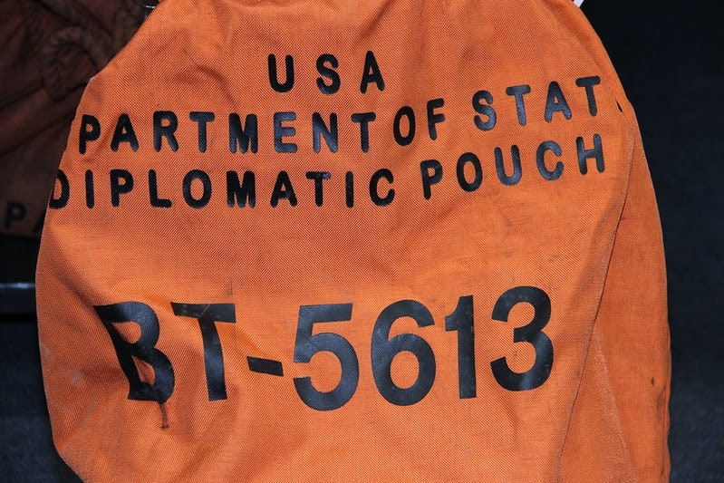 U.S. Diplomatic Pouch (2018) Diplomatic Security Service, Flickr