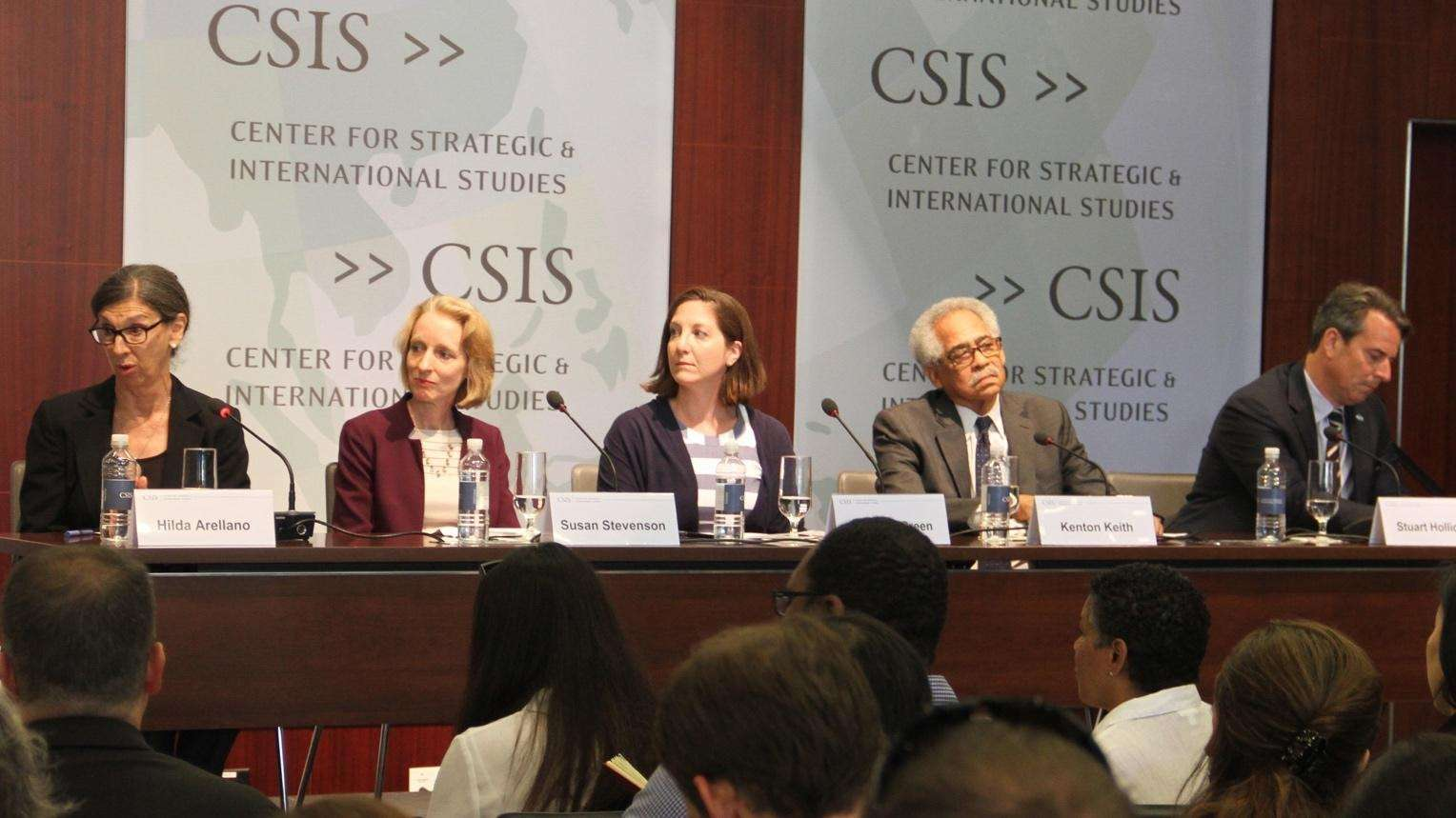 The USIA Experience: Lessons for the Proposed USAID/State Department Merger, June 20, 2017, CSIS Headquarters.