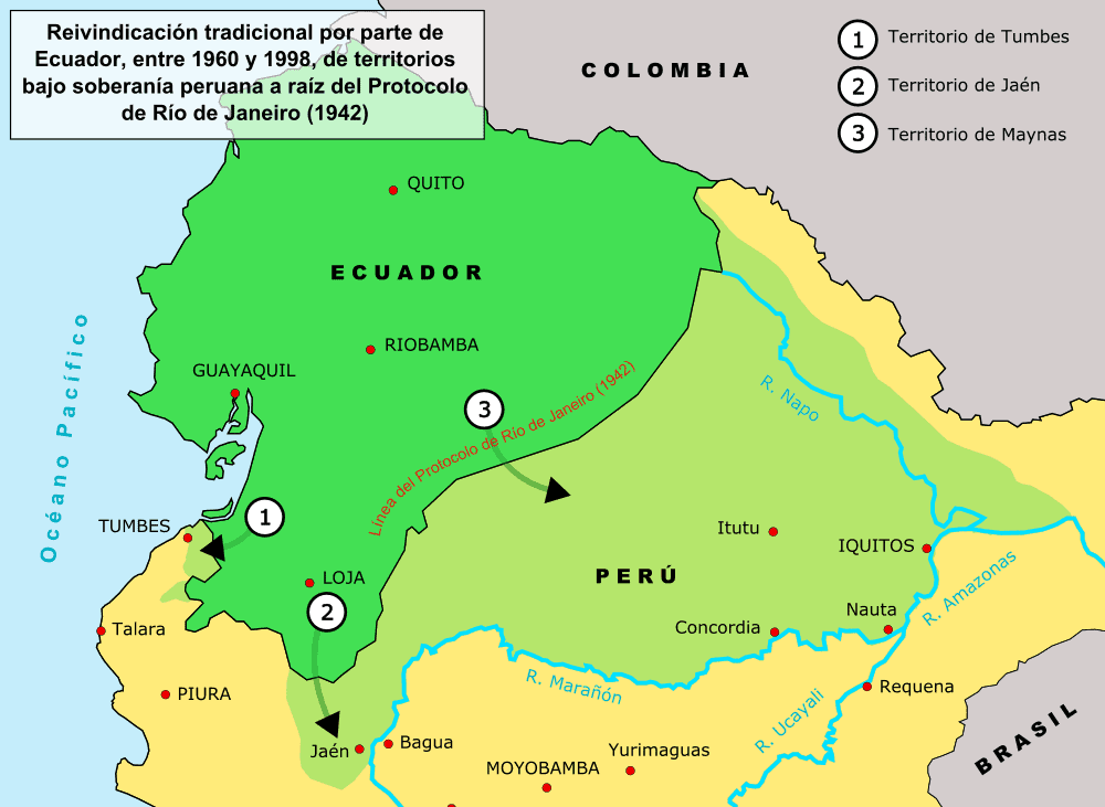 Map of the disputed territories | Wikimedia Commons
