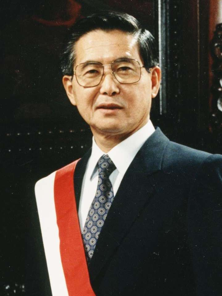 Alberto Fujimori, President of Peru During the Cenepa War | Wikimedia Commons