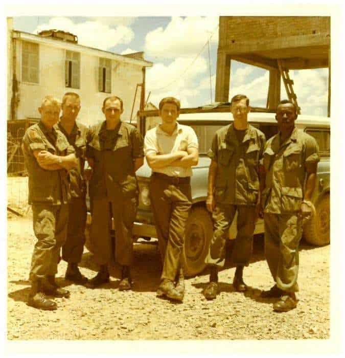 Ambassador Kenneth Quinn in Vietnam on his first tour as an FSO (1968). Ambassador Kenneth Quinn Photo Archive