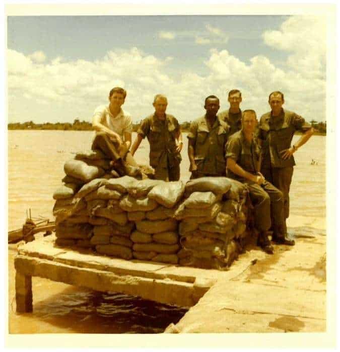Ambassador Kenneth Quinn in Vietnam on his first tour as an FSO. 1968. Ambassador Kenneth Quinn Photo Archive