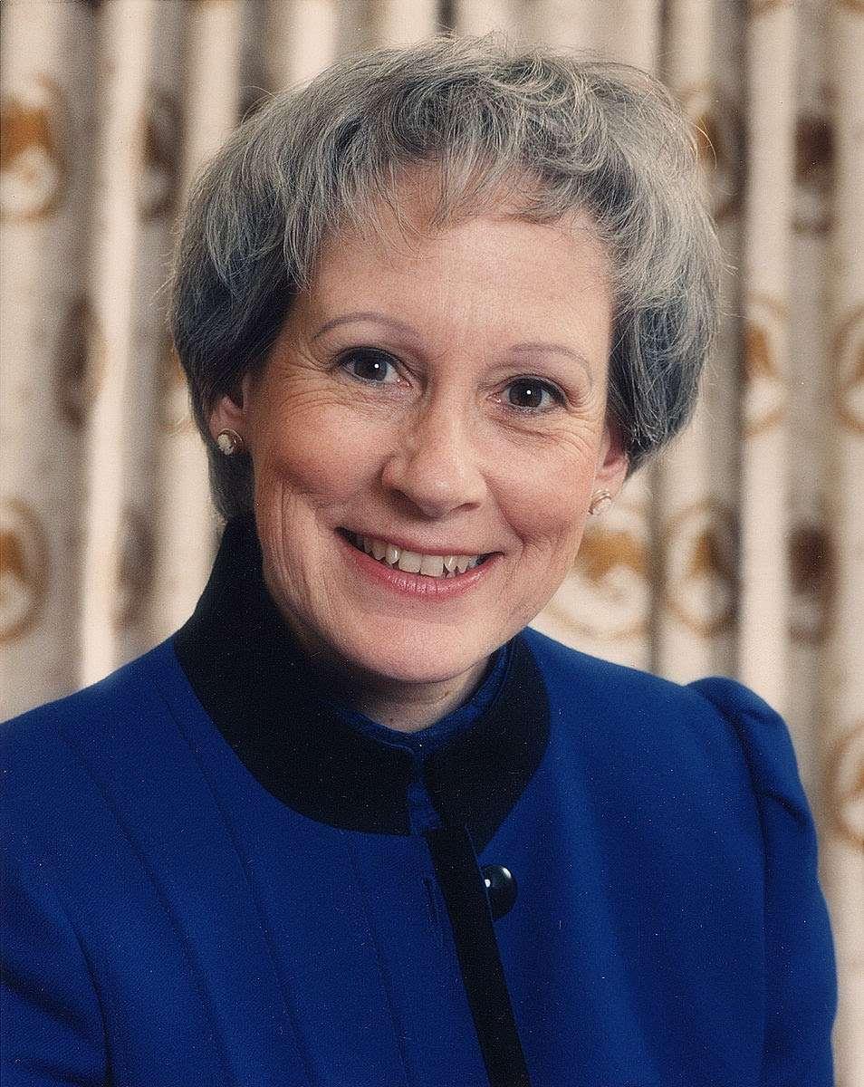 Former U.S. Senator Nancy Kassebaum (2014) Americus55   Wikimedia