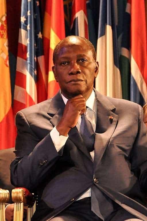 Alassane Ouattara UNESCO 09-2011 (2011) Hugo Passarello Luno | Wikimedia