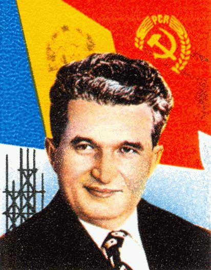 Nicolae Ceaușescu (1988) Posta Romana | fa.m.wikipedia.org