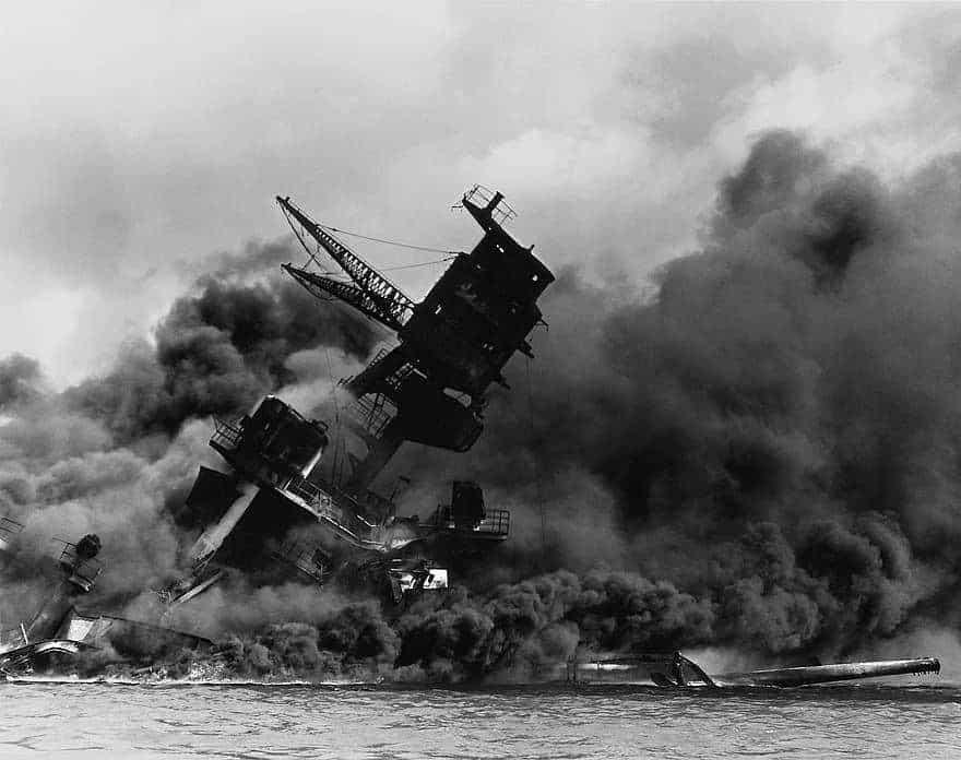 Pearl Harbor ship sinking, pikist.com