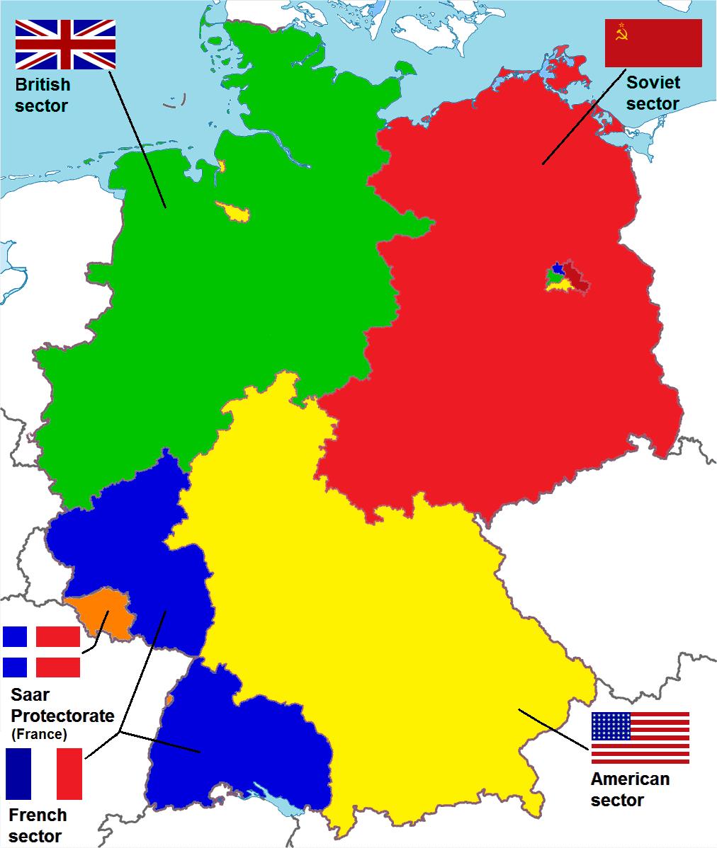 Allied occupation in Germany, 26 December 2016, Paasikivi, Wikimedia.